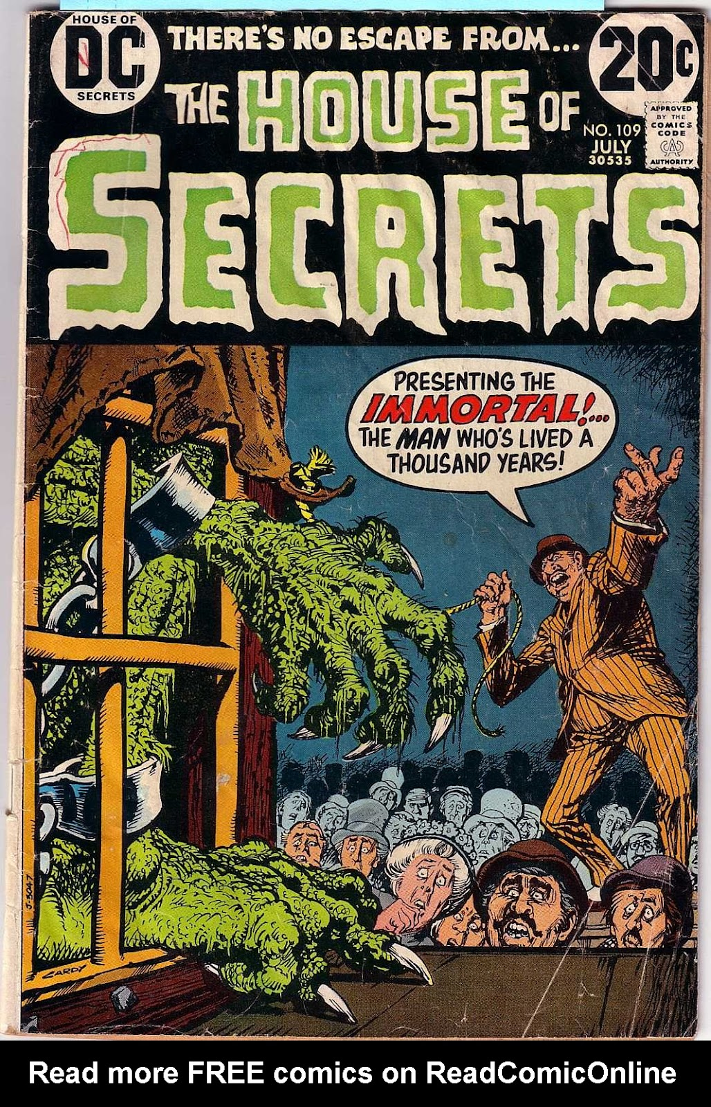 House of Secrets (1956) issue 109 - Page 1