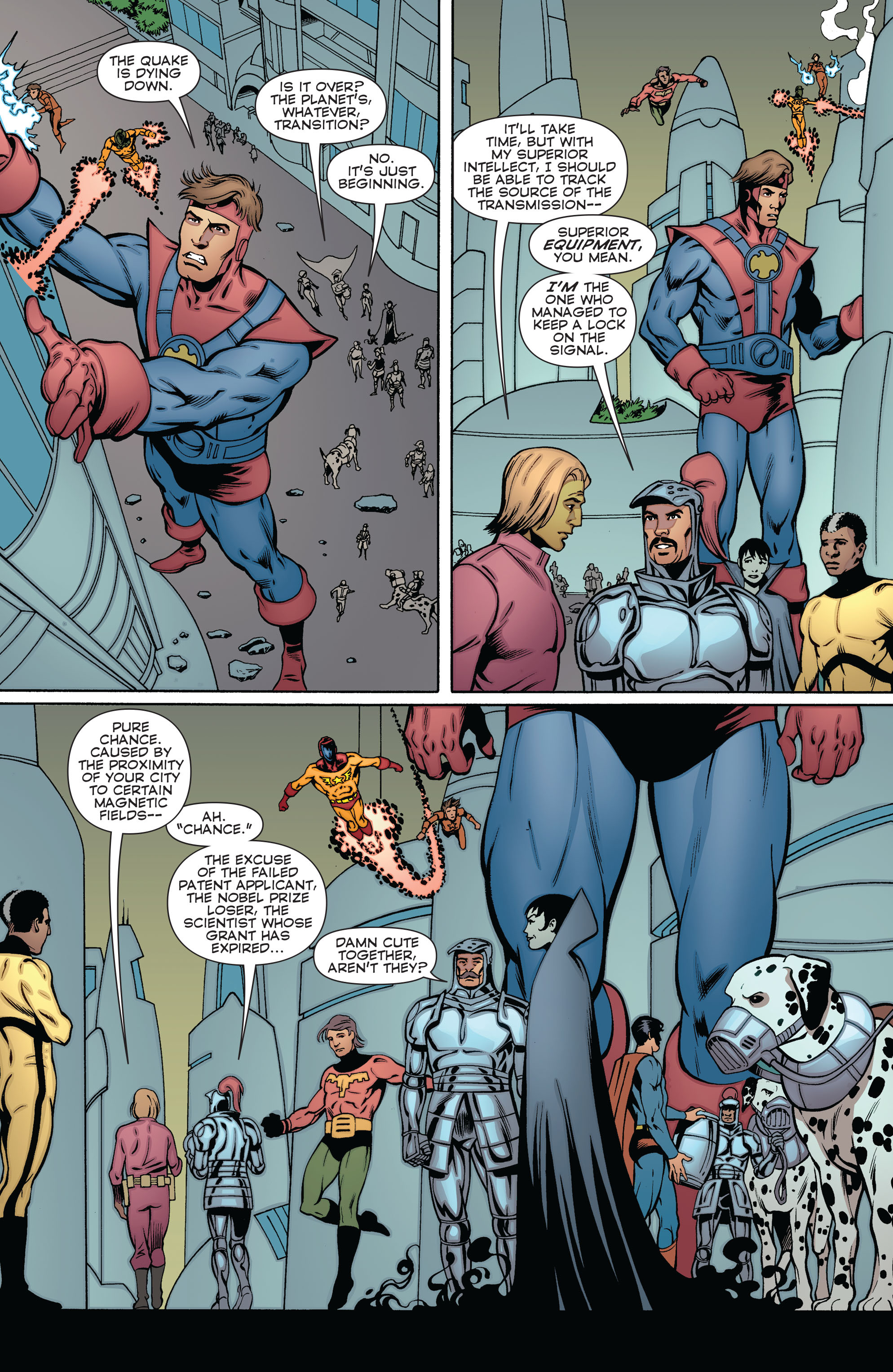 Read online Convergence Superboy and the Legion of Super-Heroes comic -  Issue #2 - 21