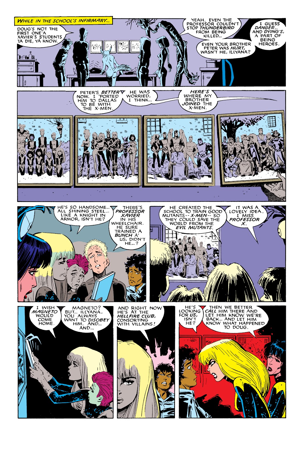 Read online X-Men Milestones: Fall of the Mutants comic -  Issue # TPB (Part 2) - 66