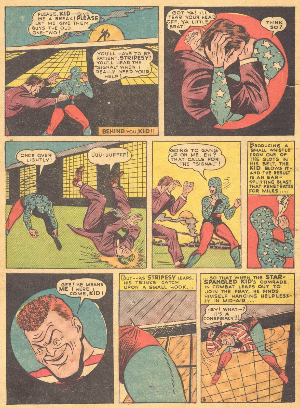 Star Spangled Comics (1941) issue 1 - Page 4