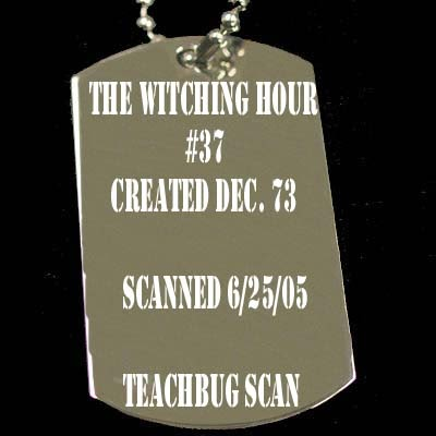 The Witching Hour (1969) issue 37 - Page 1