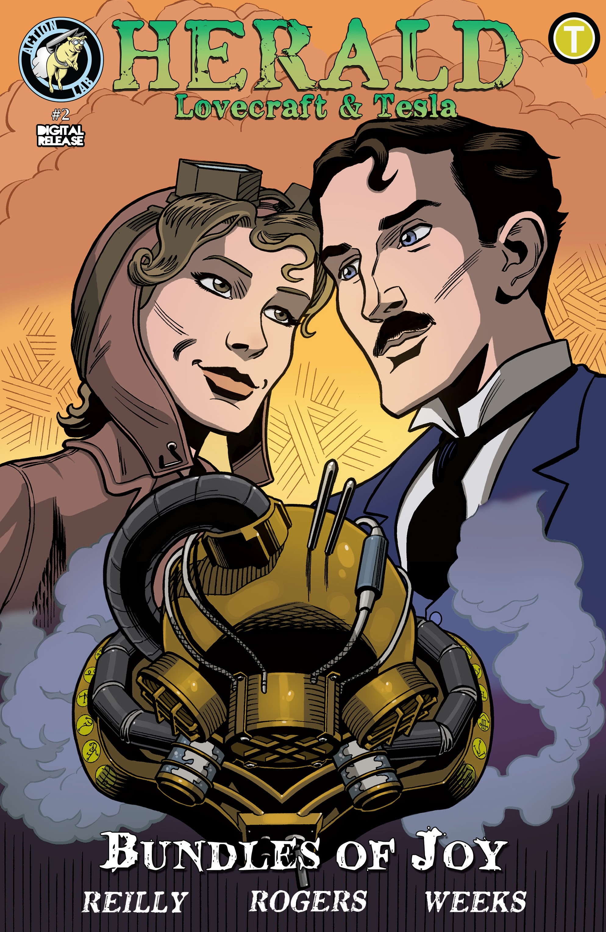 Herald: Lovecraft & Tesla - Bundles of Joy issue 2 - Page 1