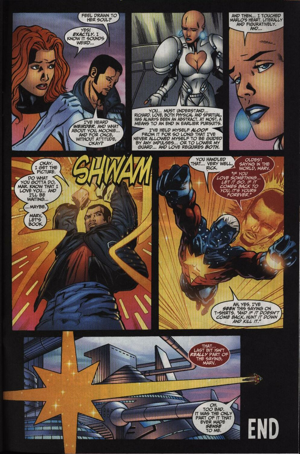 Captain Marvel (1999) Issue #35 #36 - English 22