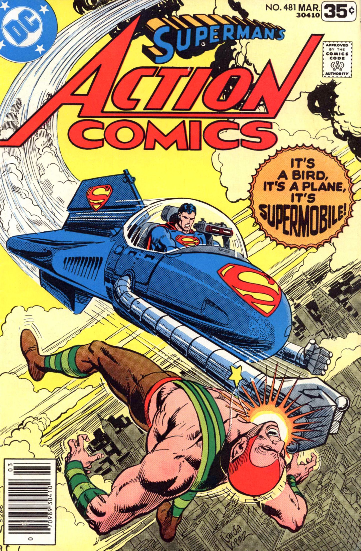 Read online Action Comics (1938) comic -  Issue #481 - 1