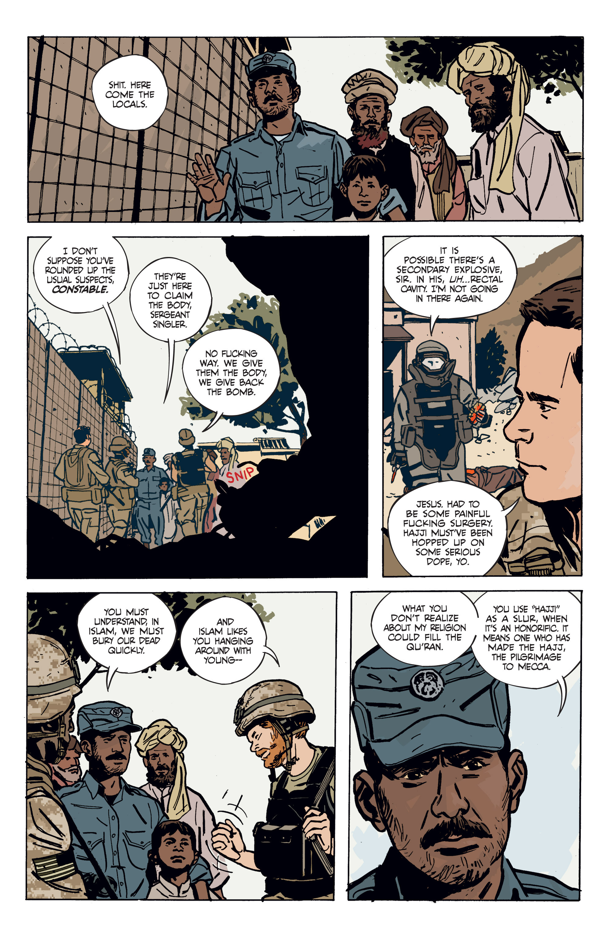 Read online Graveyard of Empires comic -  Issue # TPB - 15