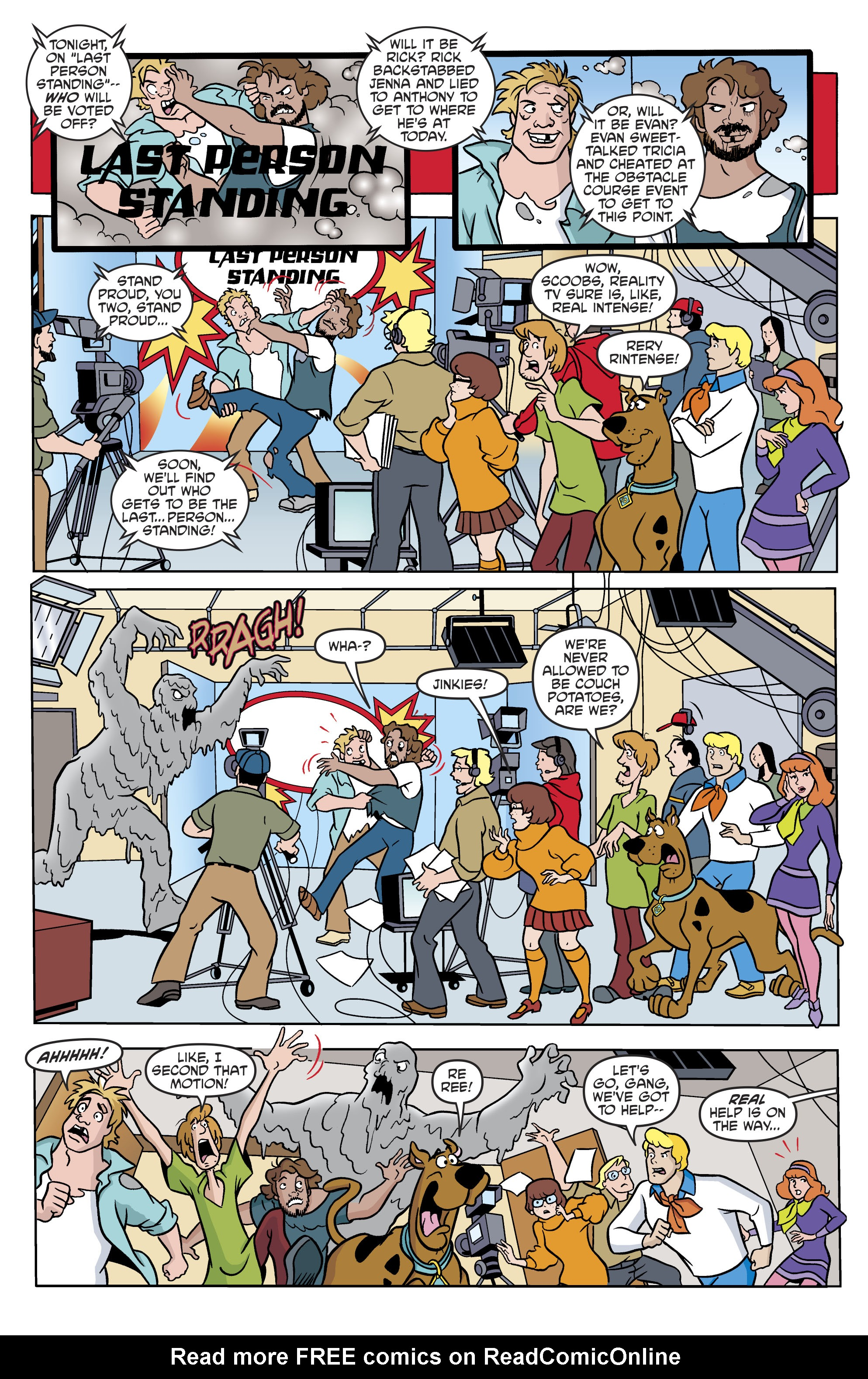 Read online Scooby-Doo: Where Are You? comic -  Issue #82 - 12