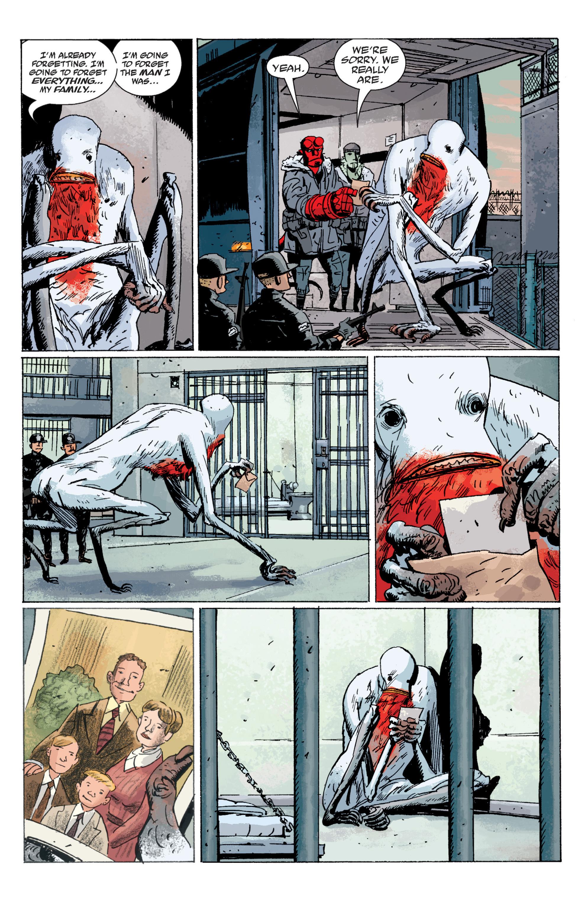 Read online B.P.R.D. (2003) comic -  Issue # TPB 6 - 108
