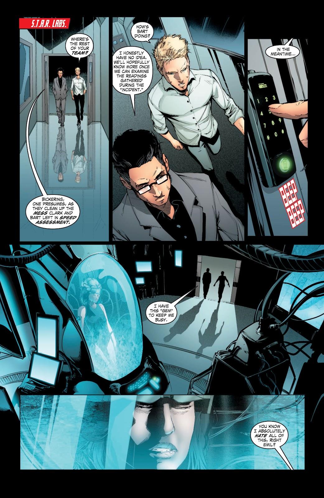 Read online Smallville Season 11 [II] comic -  Issue # TPB 3 - 62