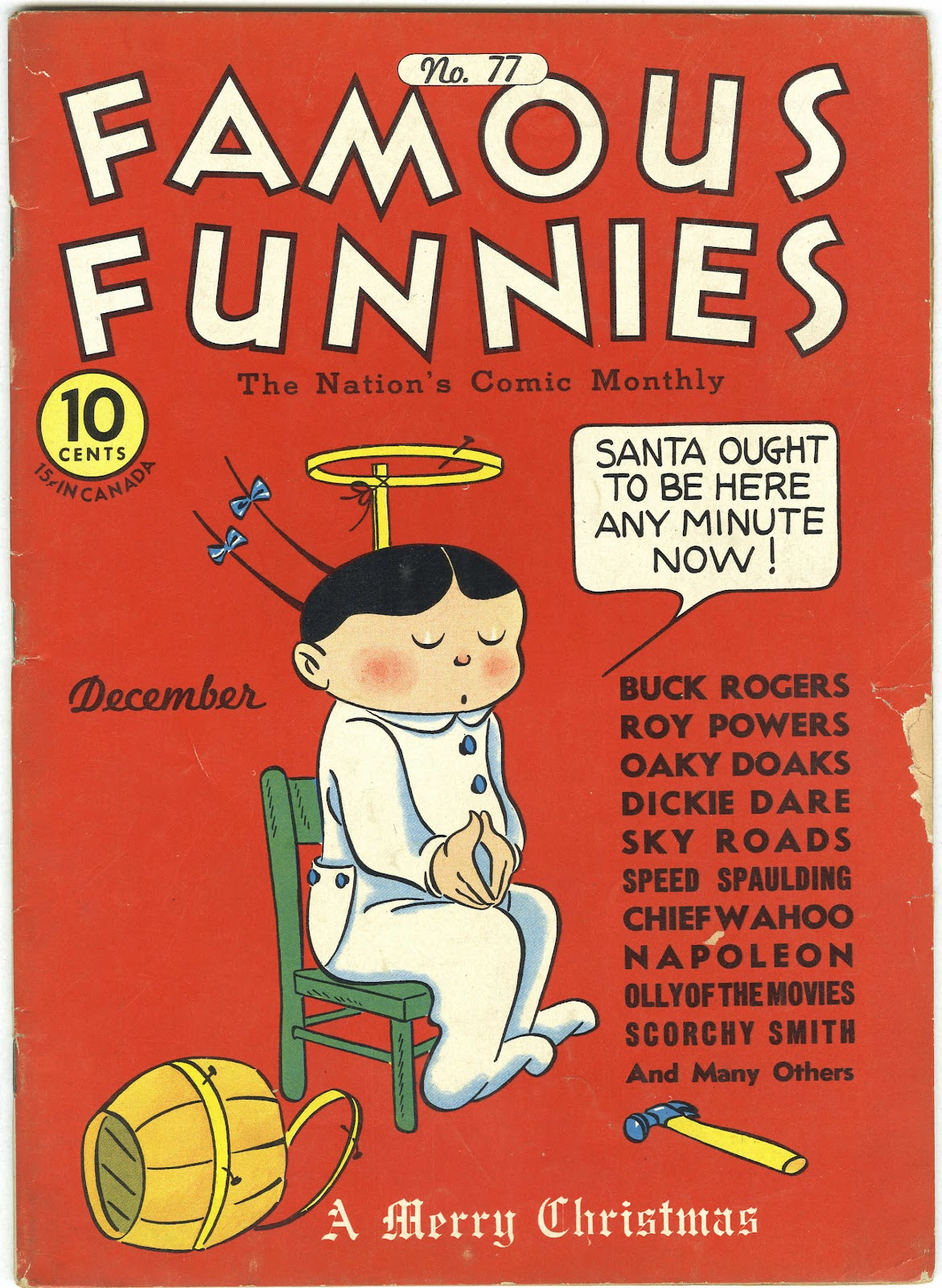 Read online Famous Funnies comic -  Issue #77 - 1