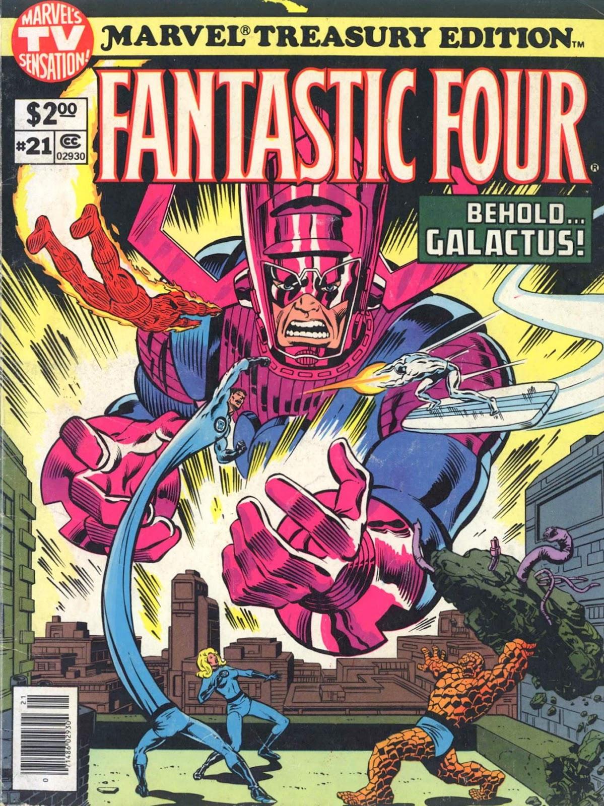 Marvel Treasury Edition 21 Page 1