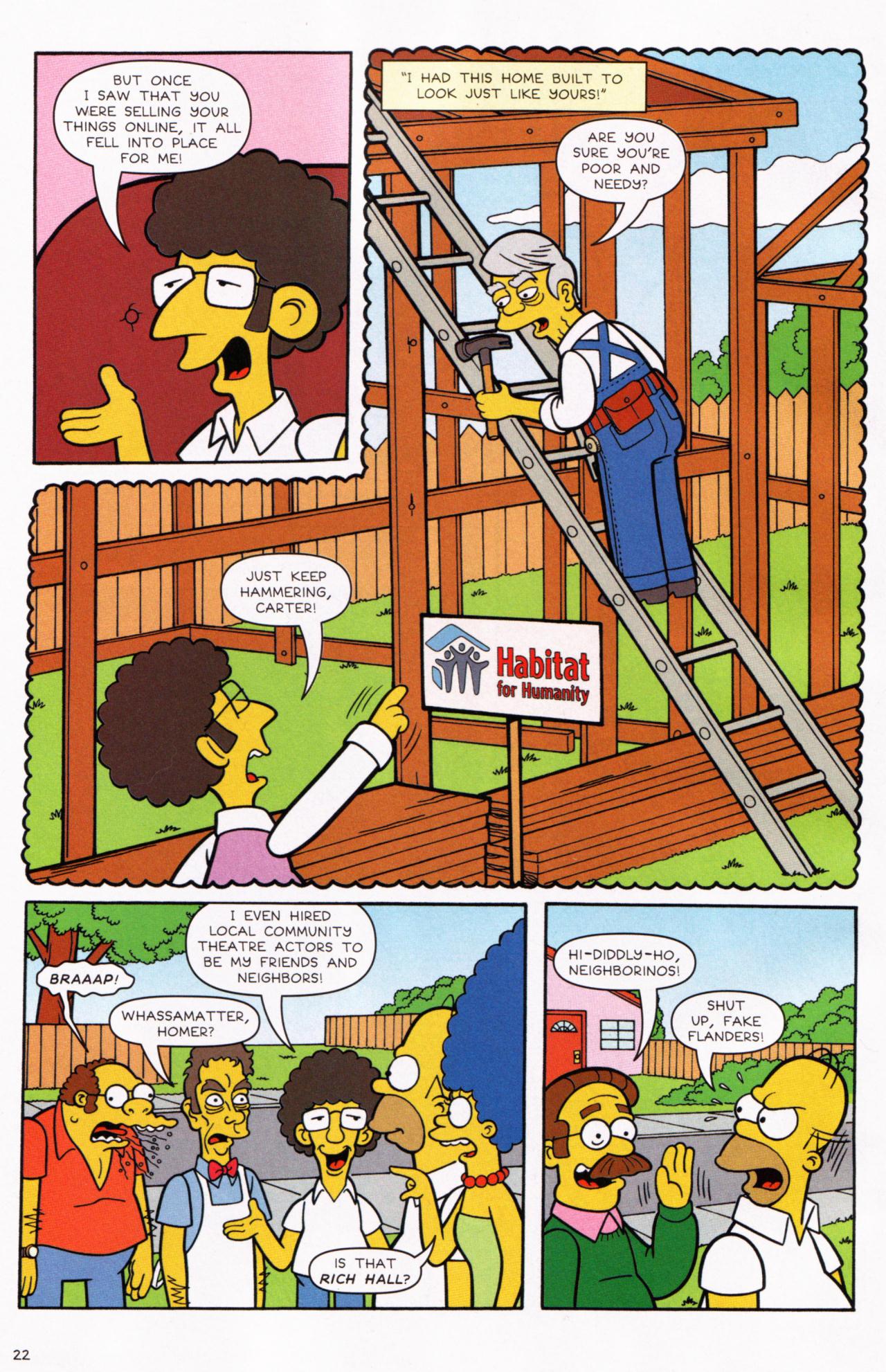 Read online Simpsons Comics comic -  Issue #130 - 19
