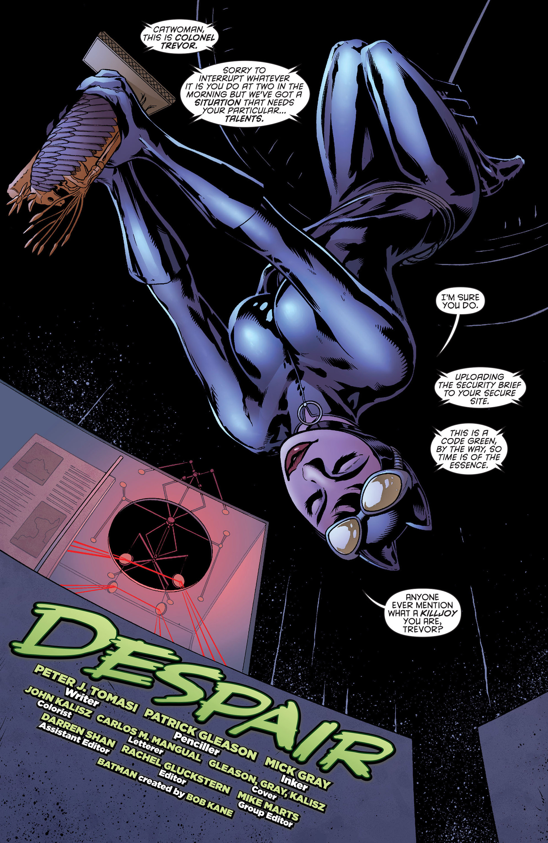 Read online Batman and Robin (2011) comic -  Issue #22 - Batman and Catwoman - 3