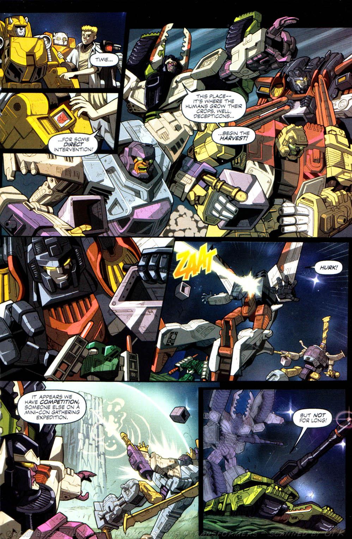 Read online Transformers Armada comic -  Issue #8 - 18