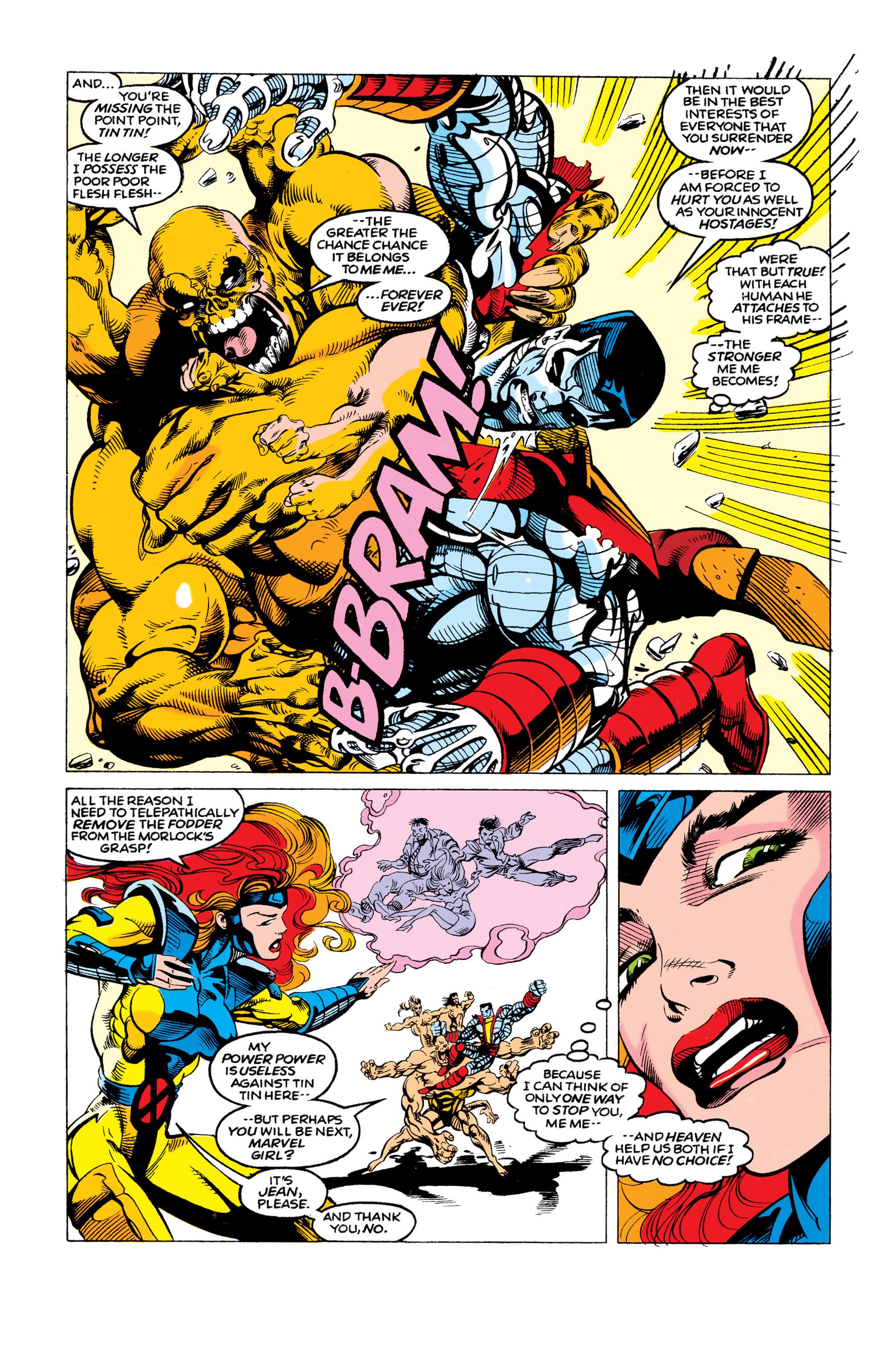 Read online Uncanny X-Men (1963) comic -  Issue #292 - 10