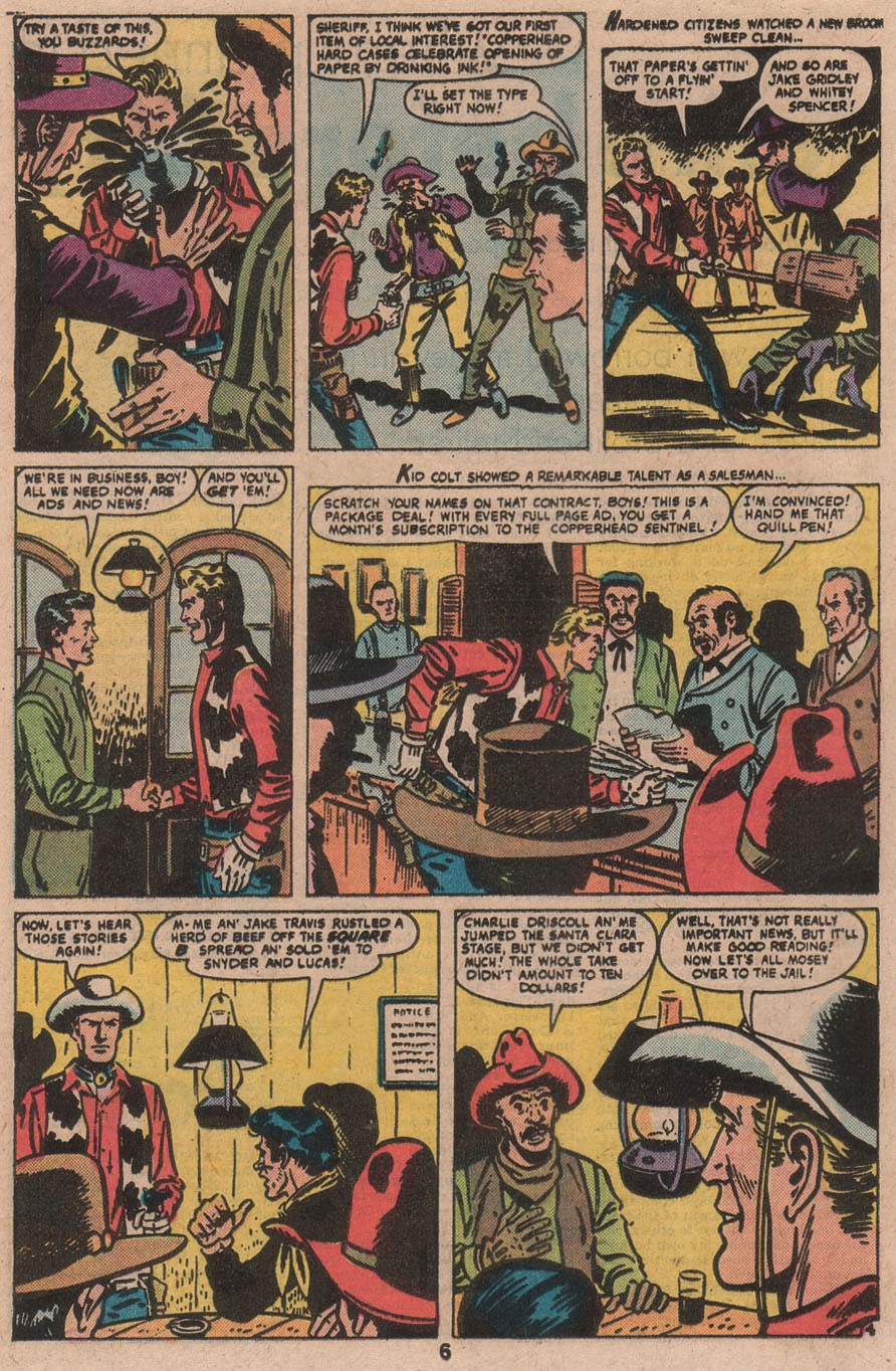 Kid Colt Outlaw issue 210 - Page 8