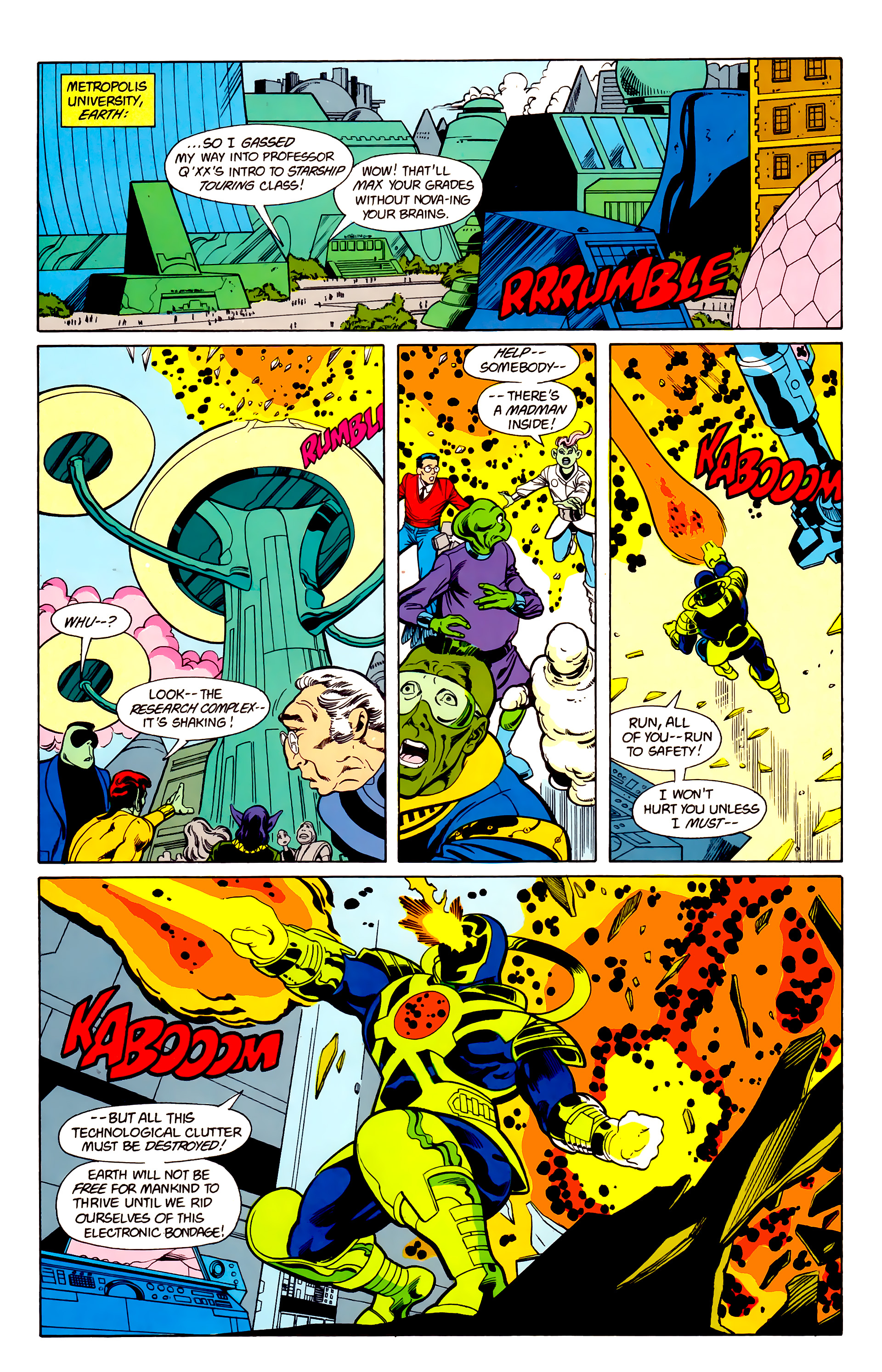 Legion of Super-Heroes (1984) 22 Page 7