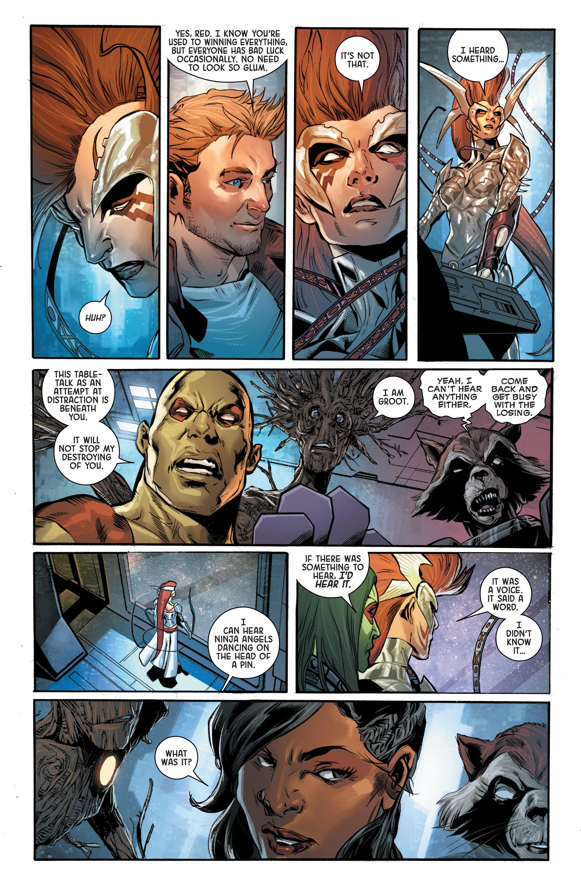 Read online Angela: Asgard's Assassin comic -  Issue #4 - 6