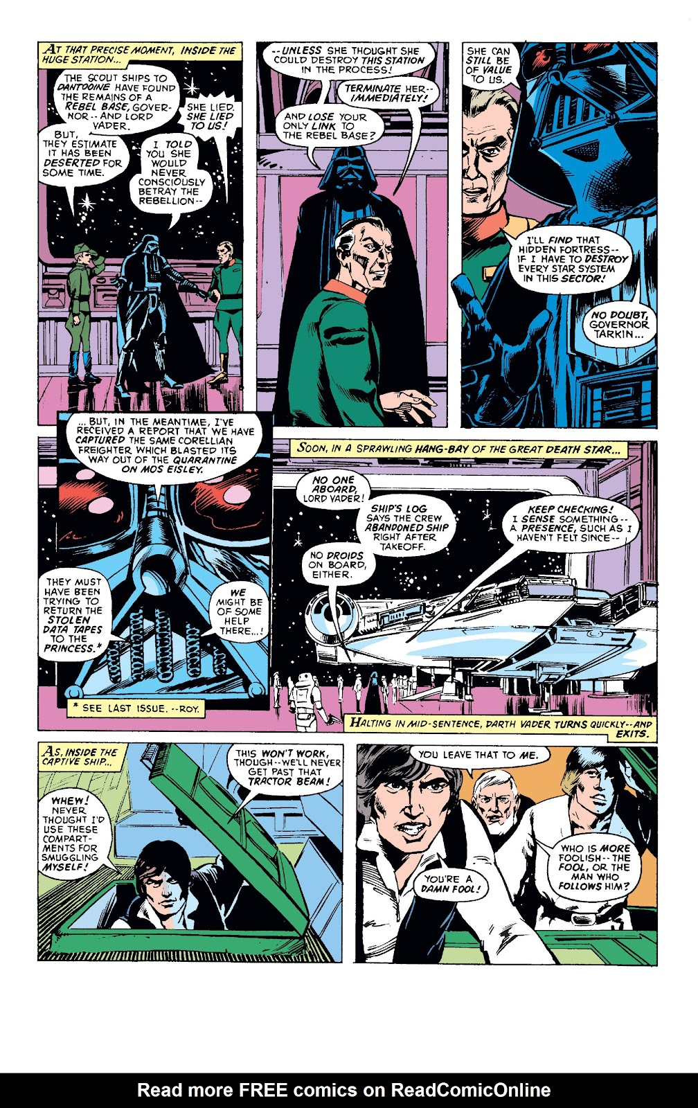 Read online Star Wars Legends: The Original Marvel Years - Epic Collection comic -  Issue # TPB 1 (Part 1) - 52