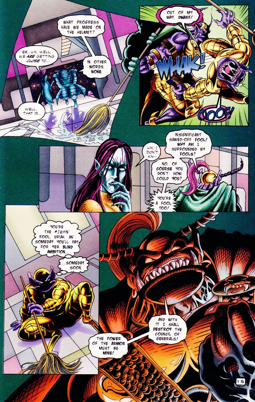 Read online The Alliance comic -  Issue #2 - 16