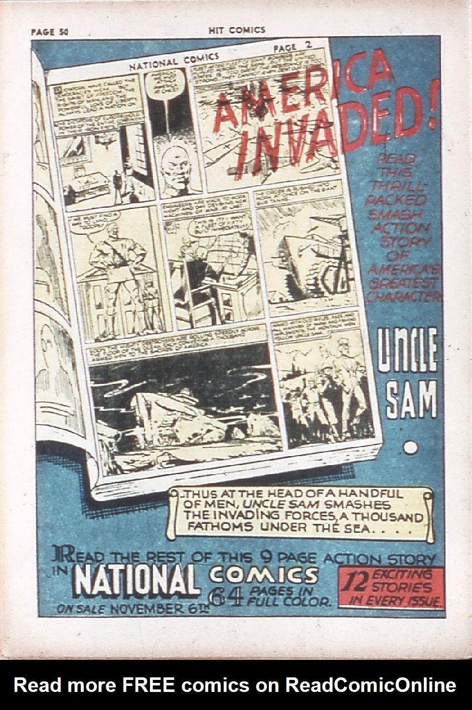 Read online Hit Comics comic -  Issue #7 - 52