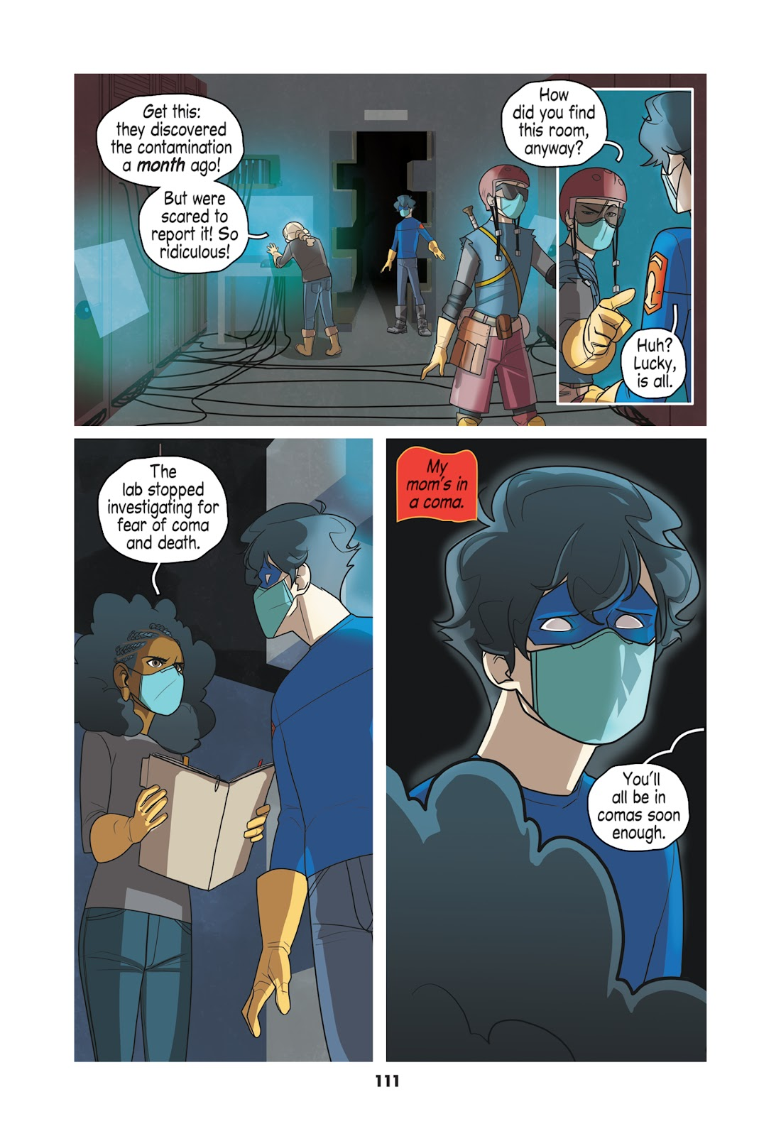 Read online Super Sons (2019) comic -  Issue # TPB The Polarshield Project (Part 2) - 7