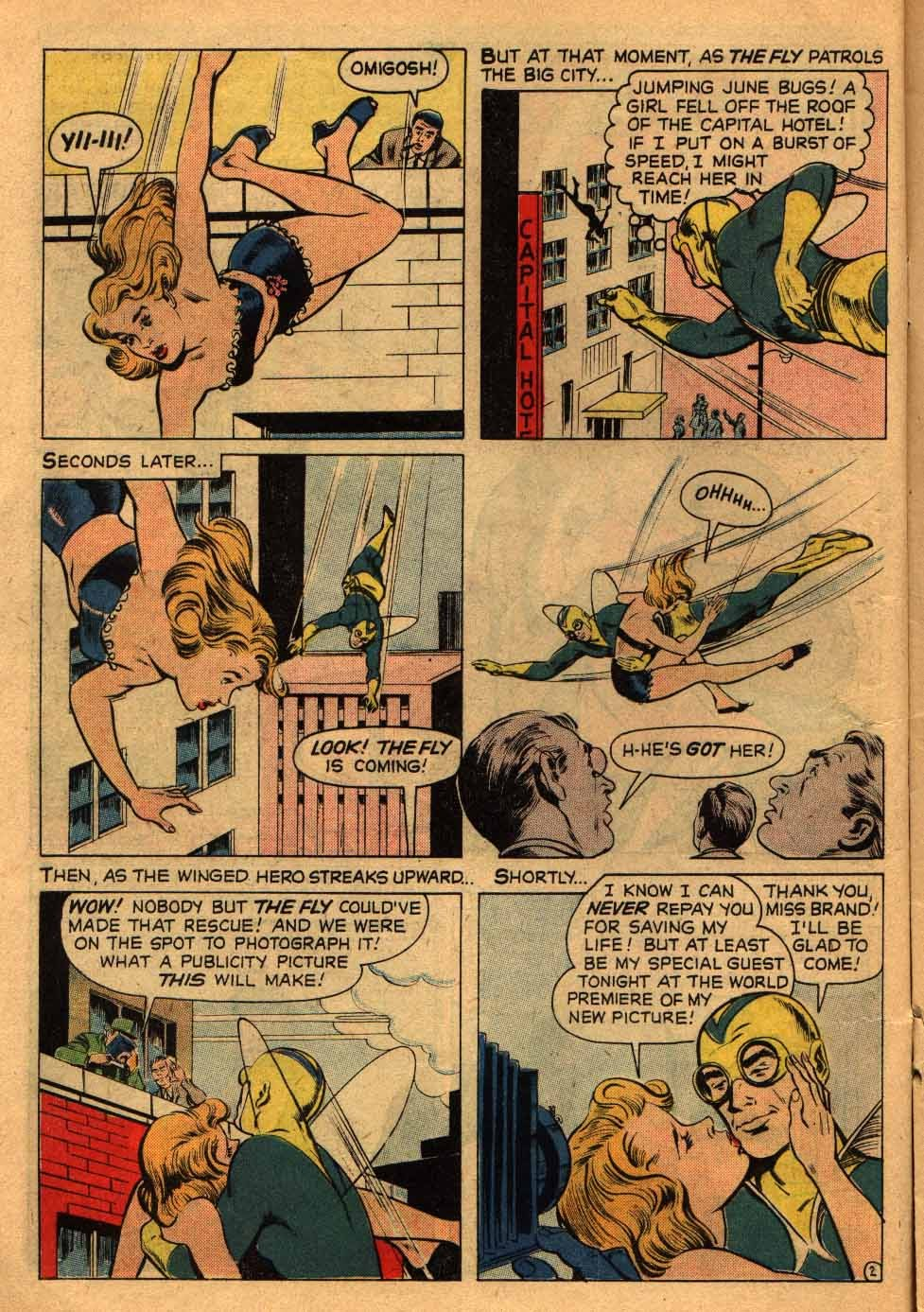 Adventures of the Fly issue 13 - Page 14