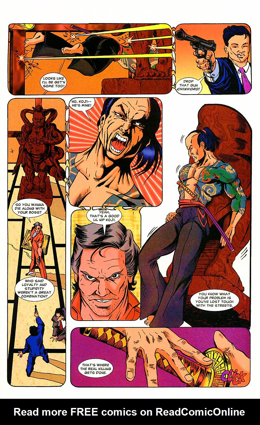 Read online Shi: The Way of the Warrior comic -  Issue #4 - 7