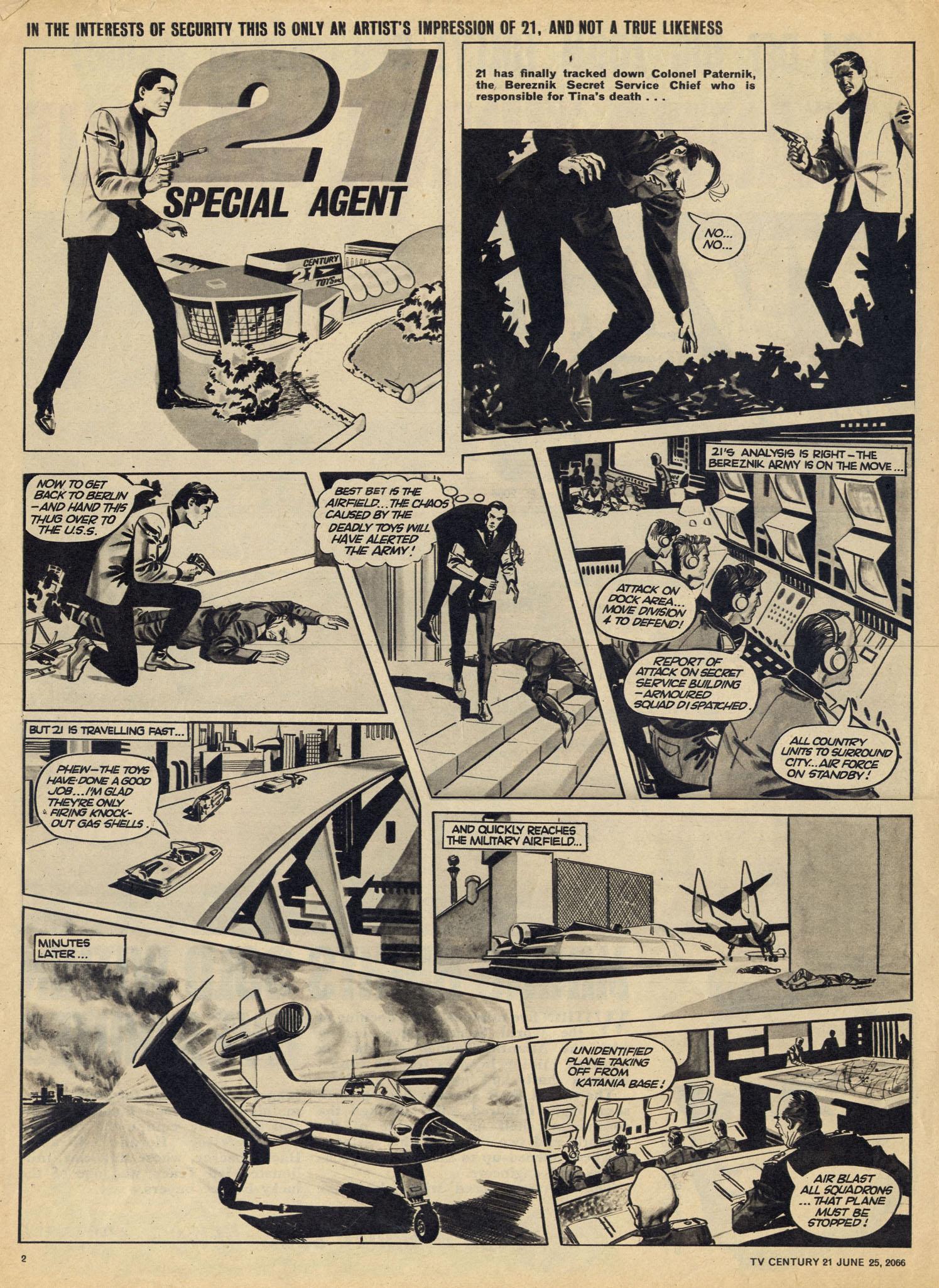 Read online TV Century 21 (TV 21) comic -  Issue #75 - 2