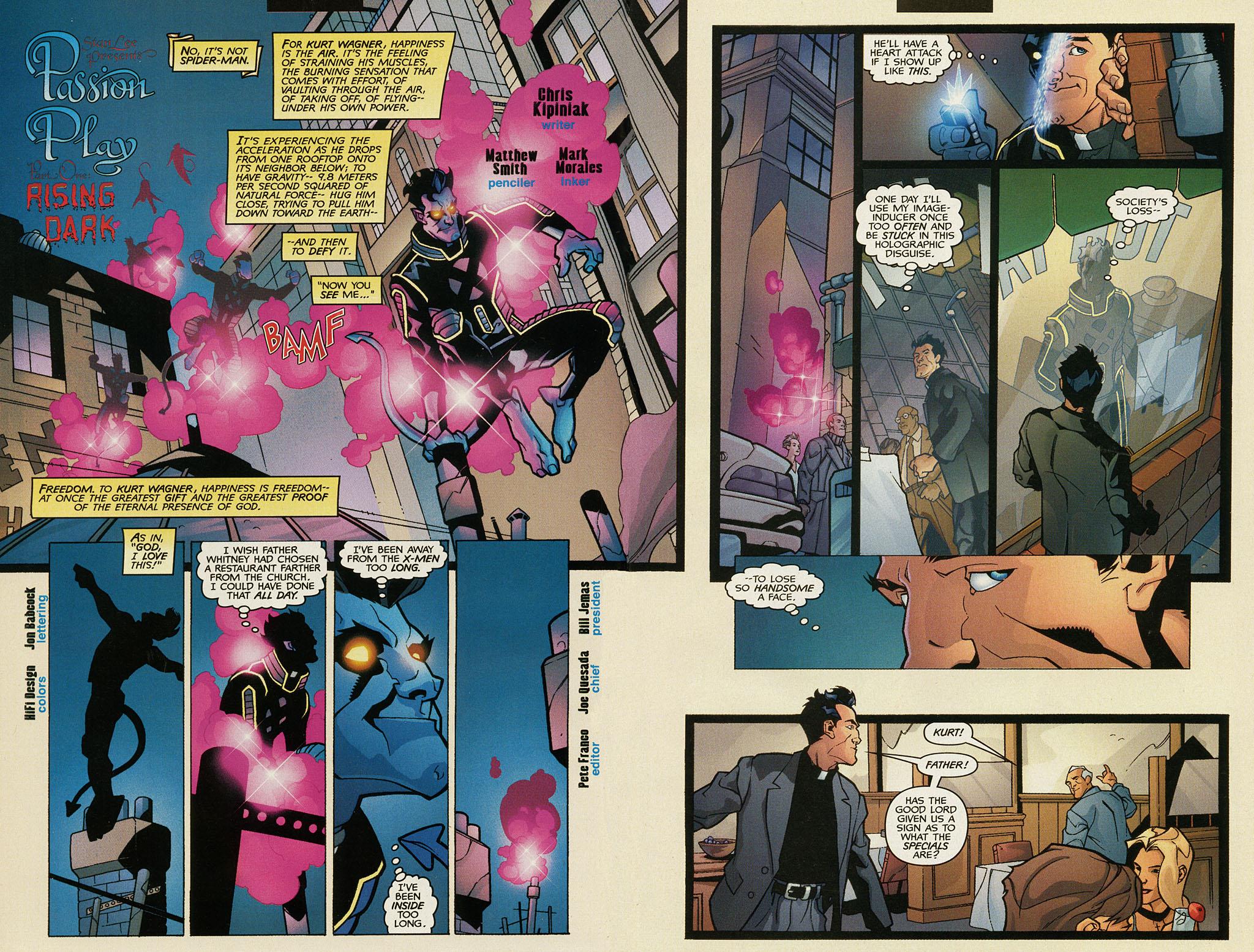 Read online Nightcrawler (2002) comic -  Issue #1 - 3