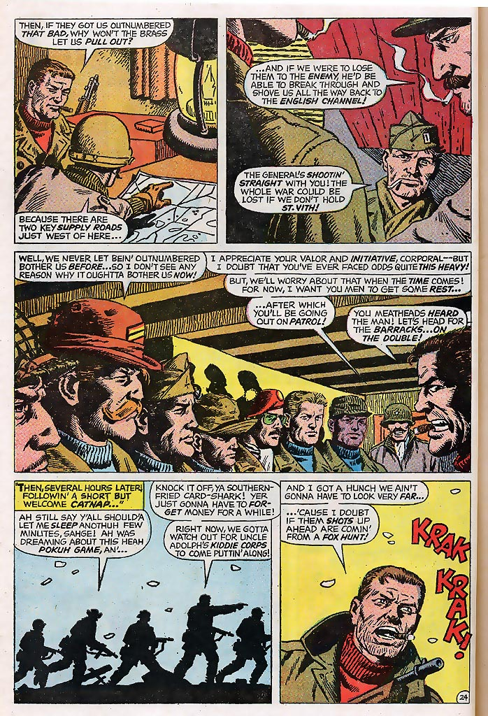 Read online Sgt. Fury comic -  Issue # _Special 4 - 30