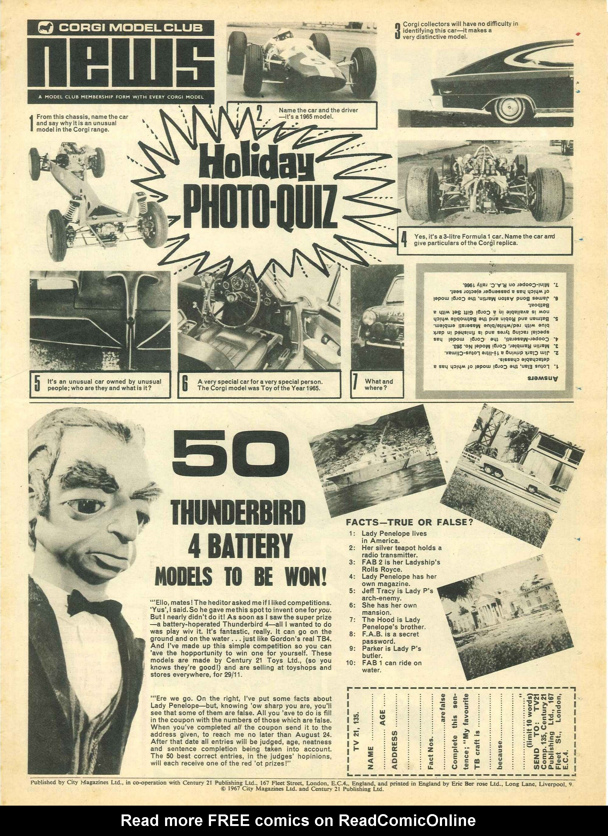 Read online TV Century 21 (TV 21) comic -  Issue #135 - 18
