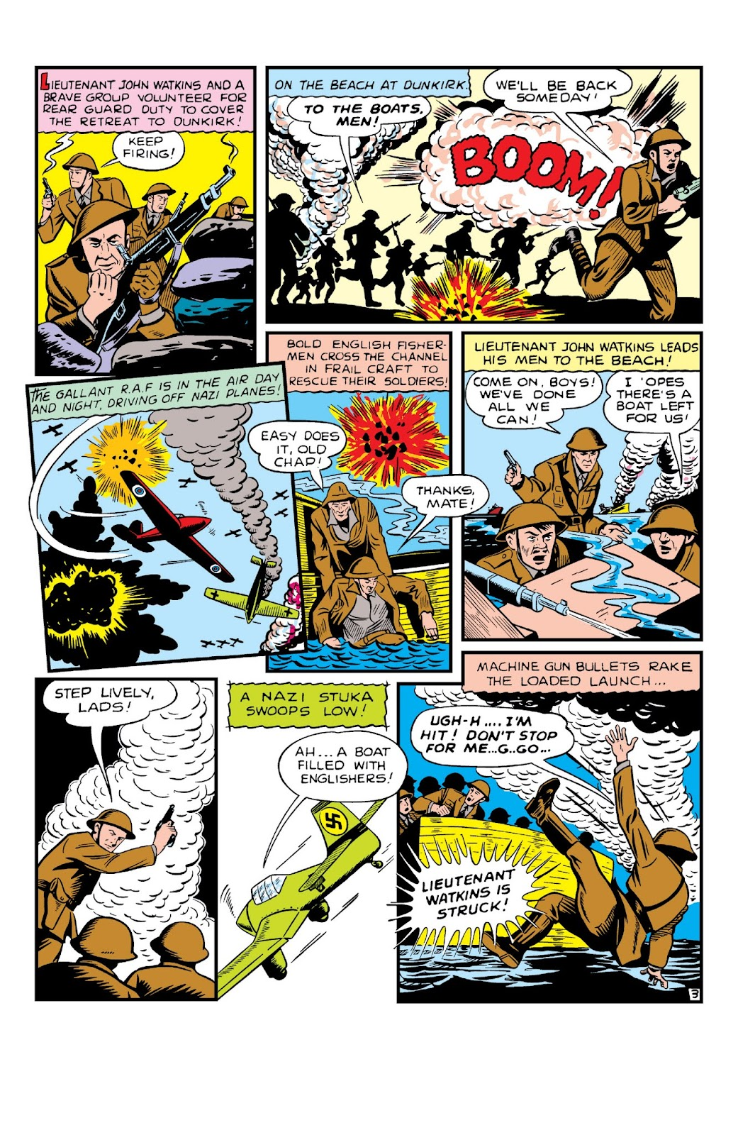 Daring Mystery Comics issue 8 - Page 5
