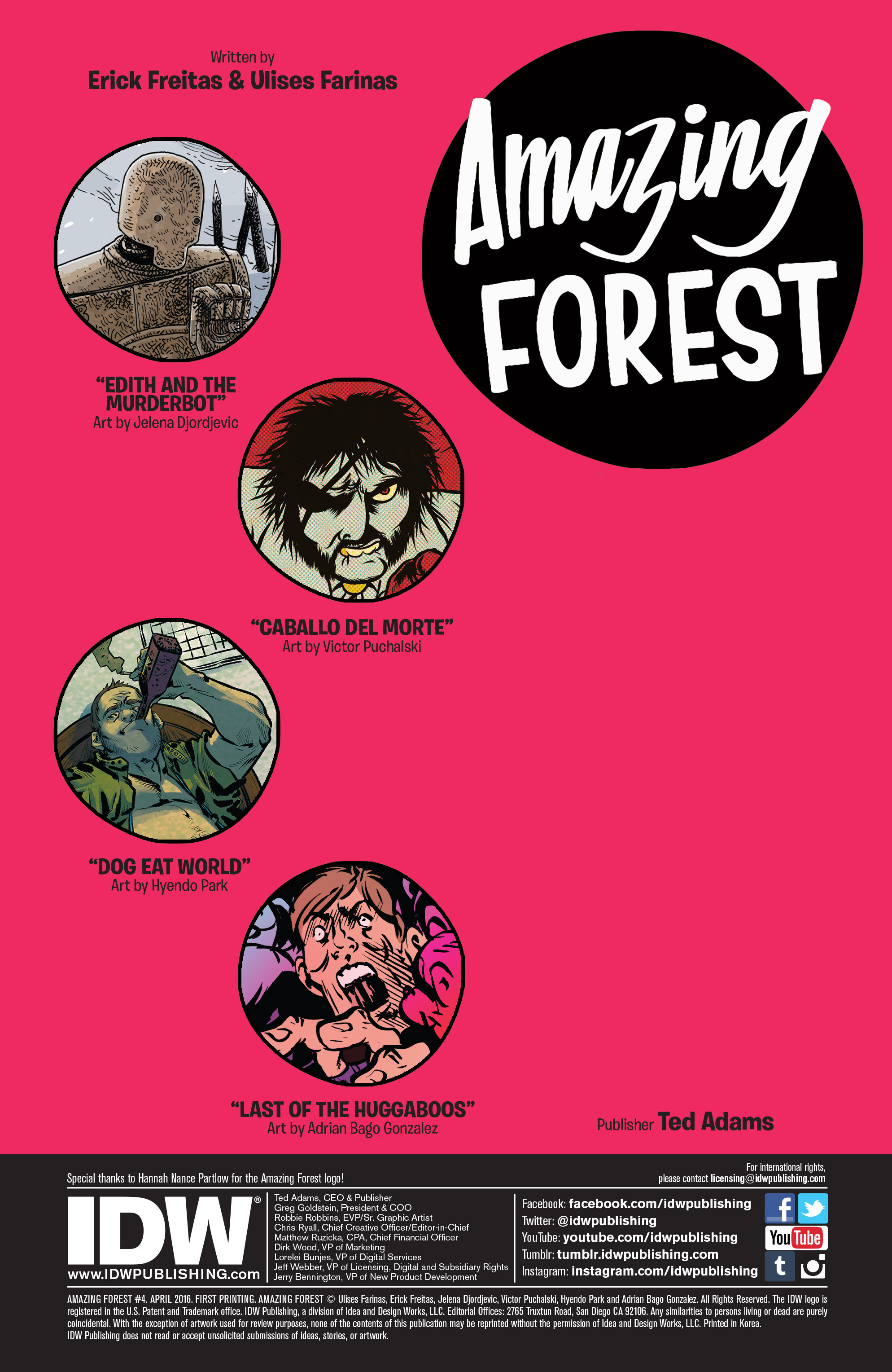 Read online Amazing Forest (2016) comic -  Issue #4 - 2