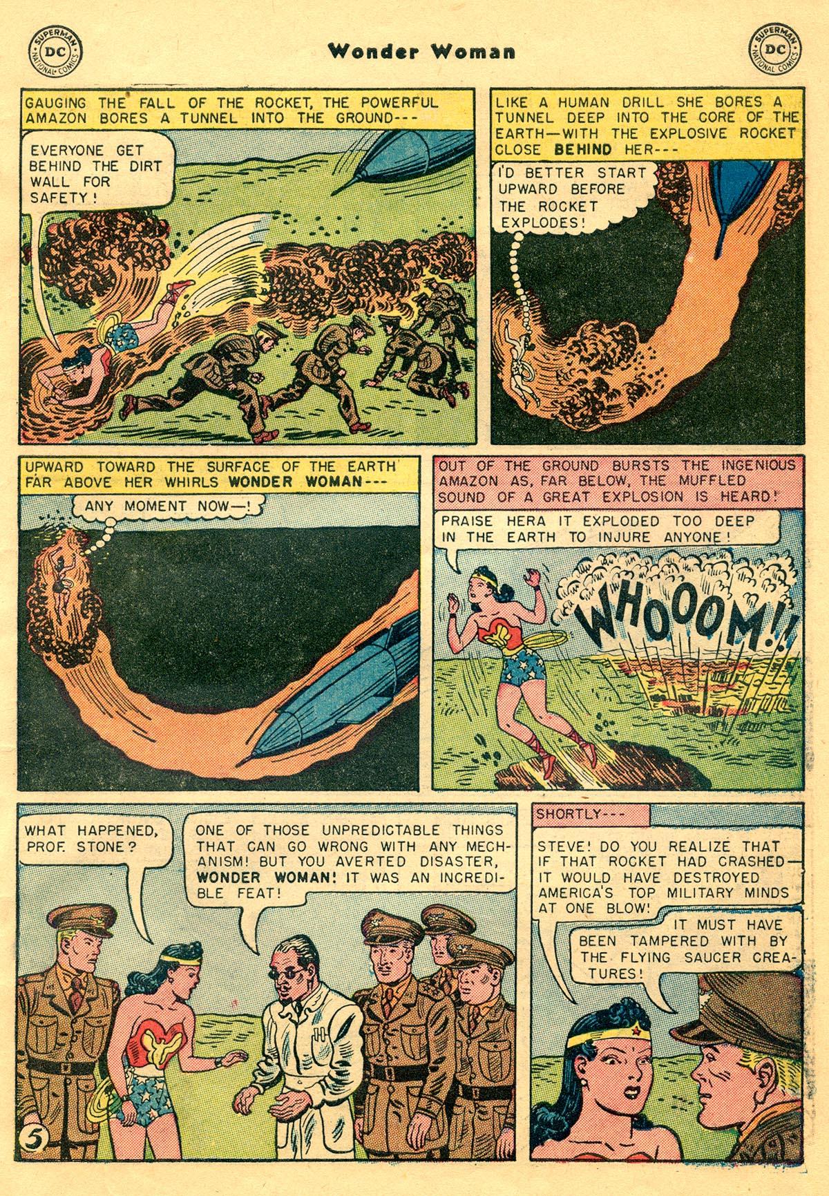 Read online Wonder Woman (1942) comic -  Issue #68 - 7
