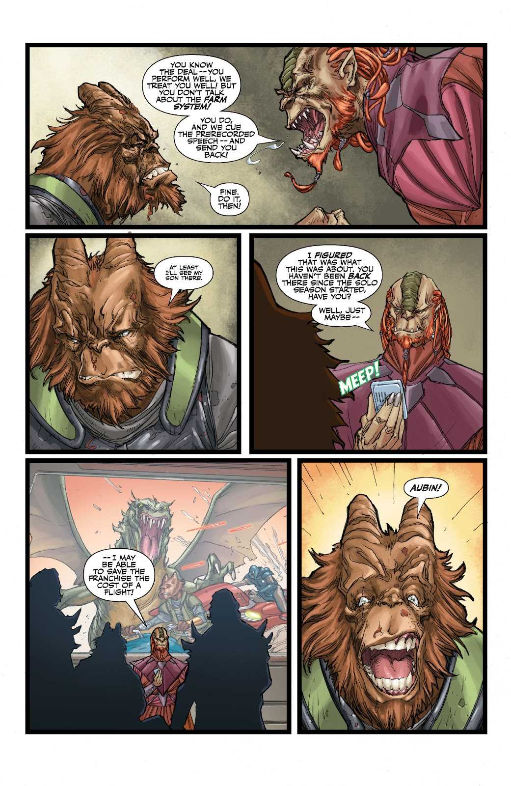 Read online Star Wars Legends: The Old Republic - Epic Collection comic -  Issue # TPB 3 (Part 1) - 43