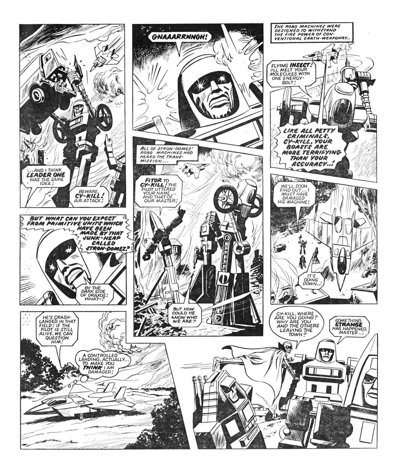 Read online Robo Machines comic -  Issue # TPB - 22