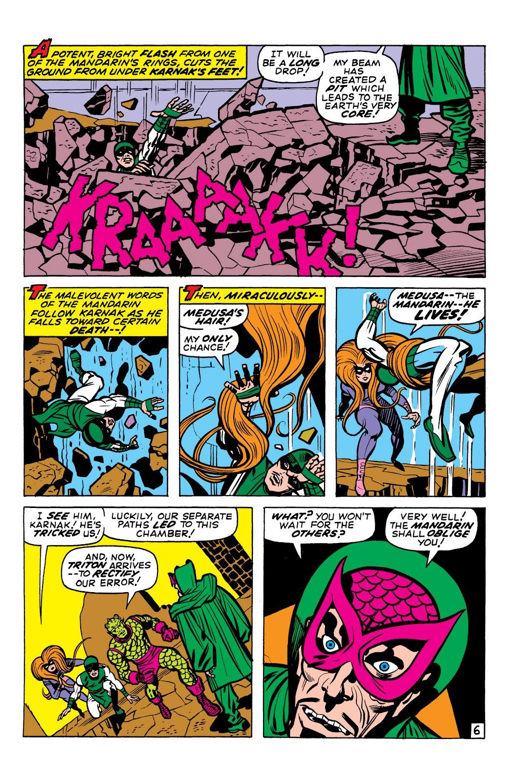 Read online Marvel Masterworks: The Inhumans comic -  Issue # TPB 1 (Part 2) - 8