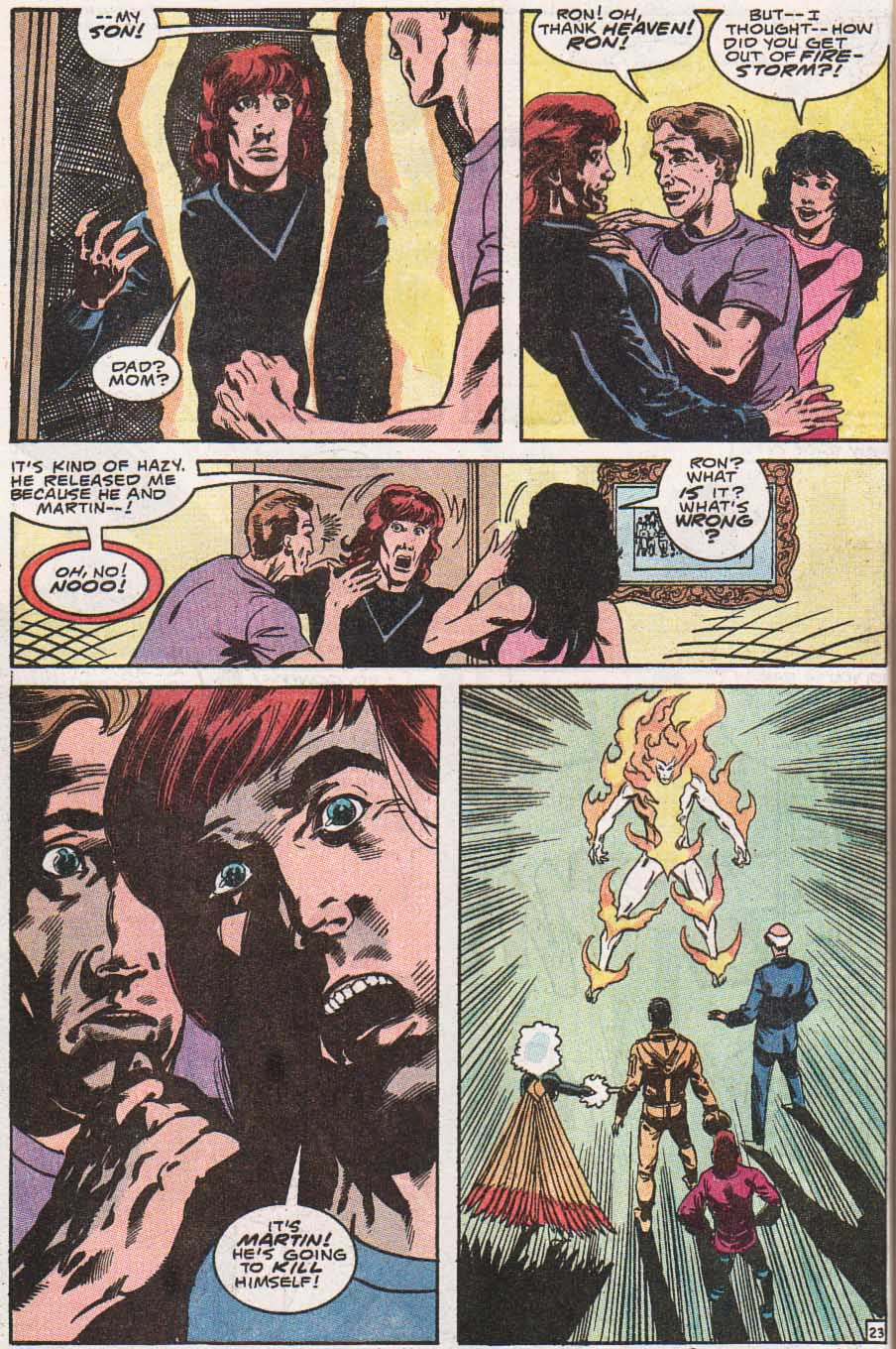 Firestorm, the Nuclear Man Issue #100 #36 - English 24