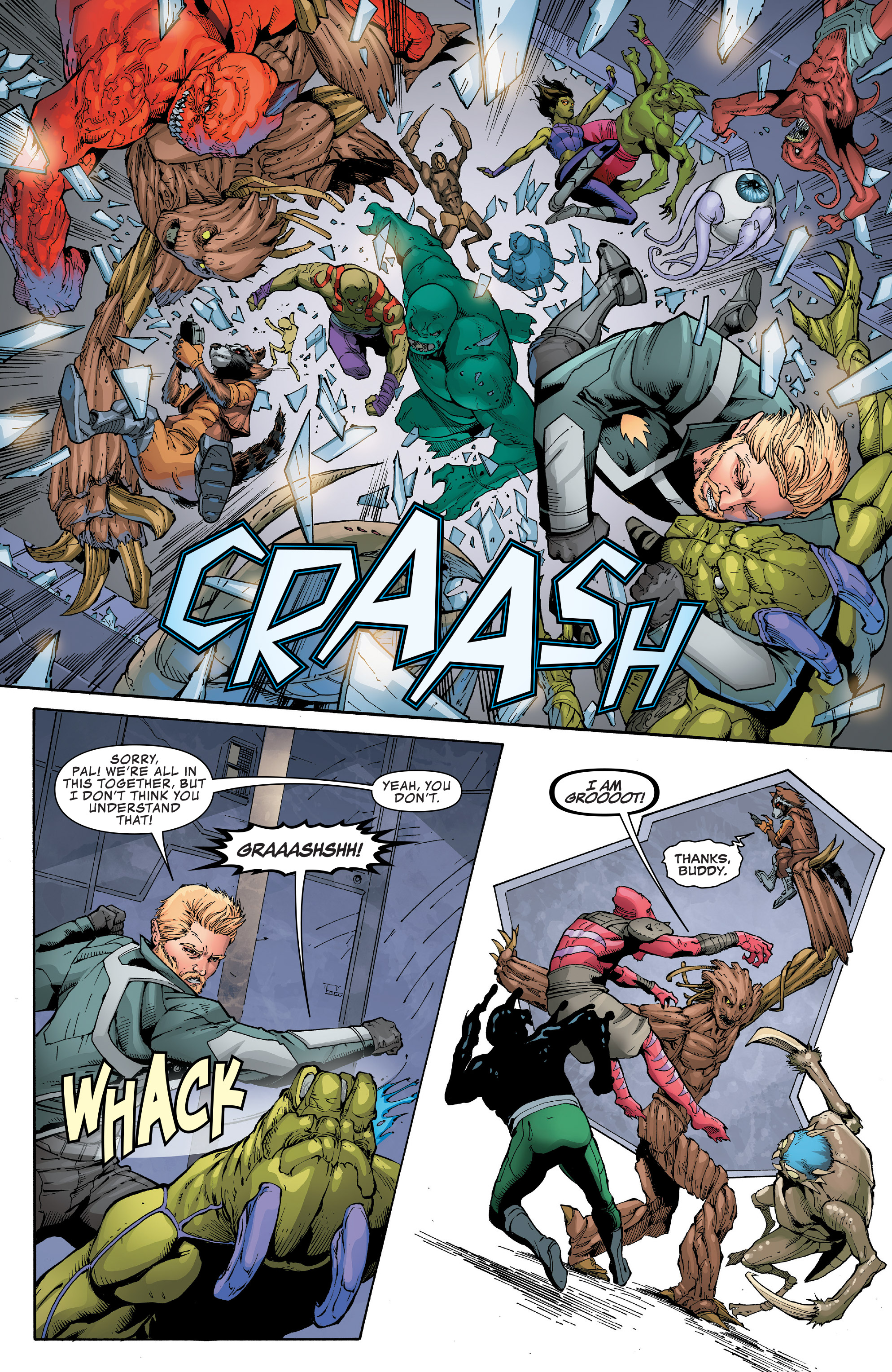 Read online Guardians of the Galaxy: Mission Breakout comic -  Issue # Full - 23