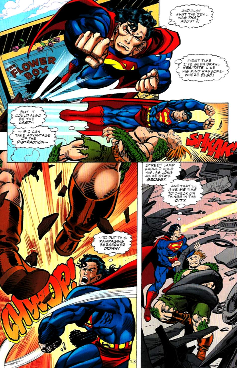 Read online Action Comics (1938) comic -  Issue #724 - 13