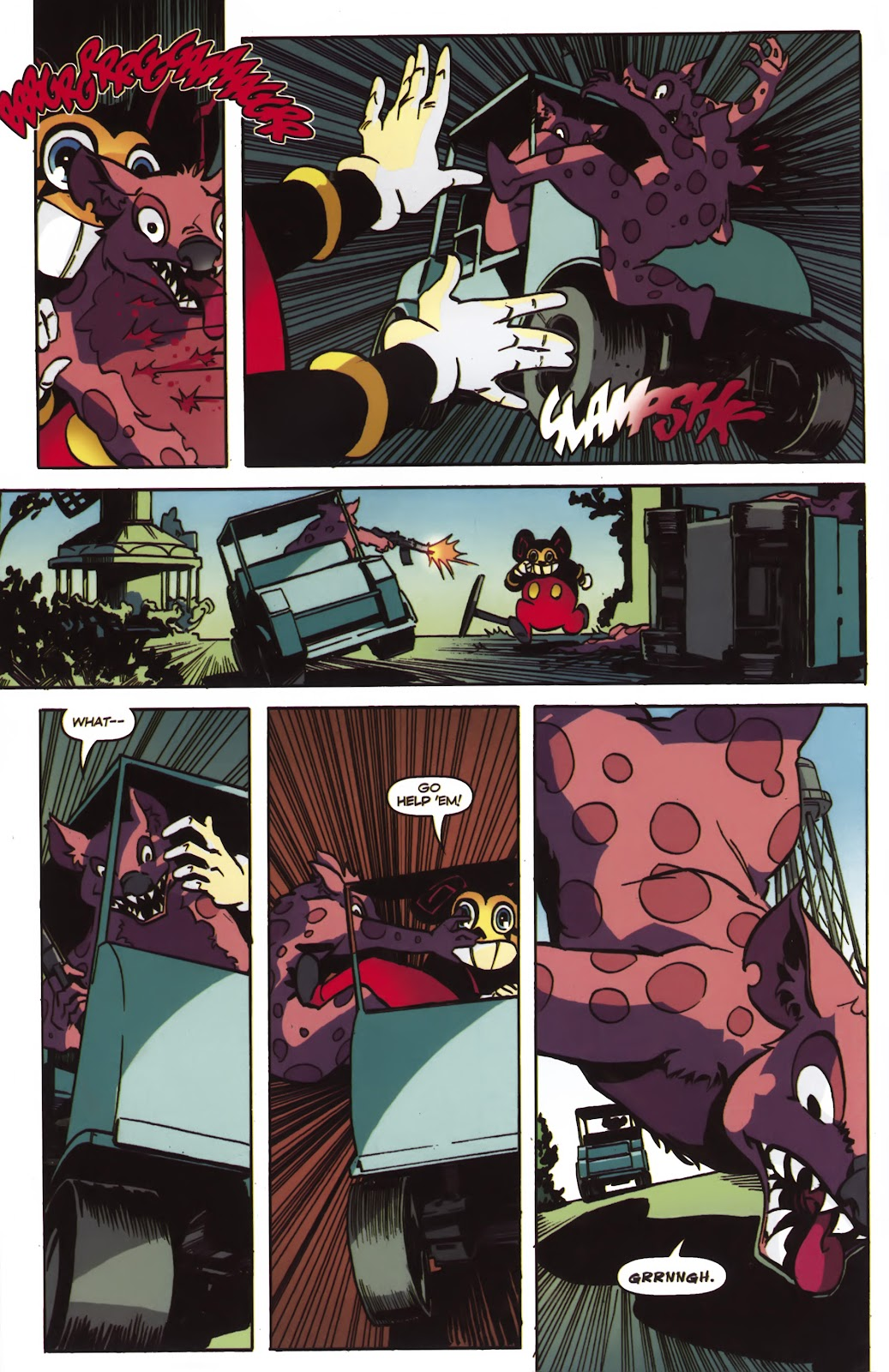 Read online Ricky Rouse Has A Gun comic -  Issue # TPB (Part 2) - 31