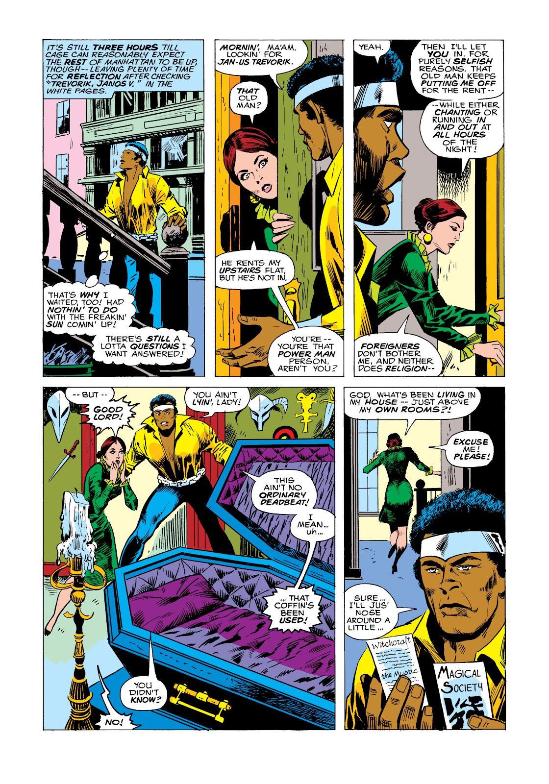 Read online Marvel Masterworks: Luke Cage, Power Man comic -  Issue # TPB 2 (Part 2) - 87