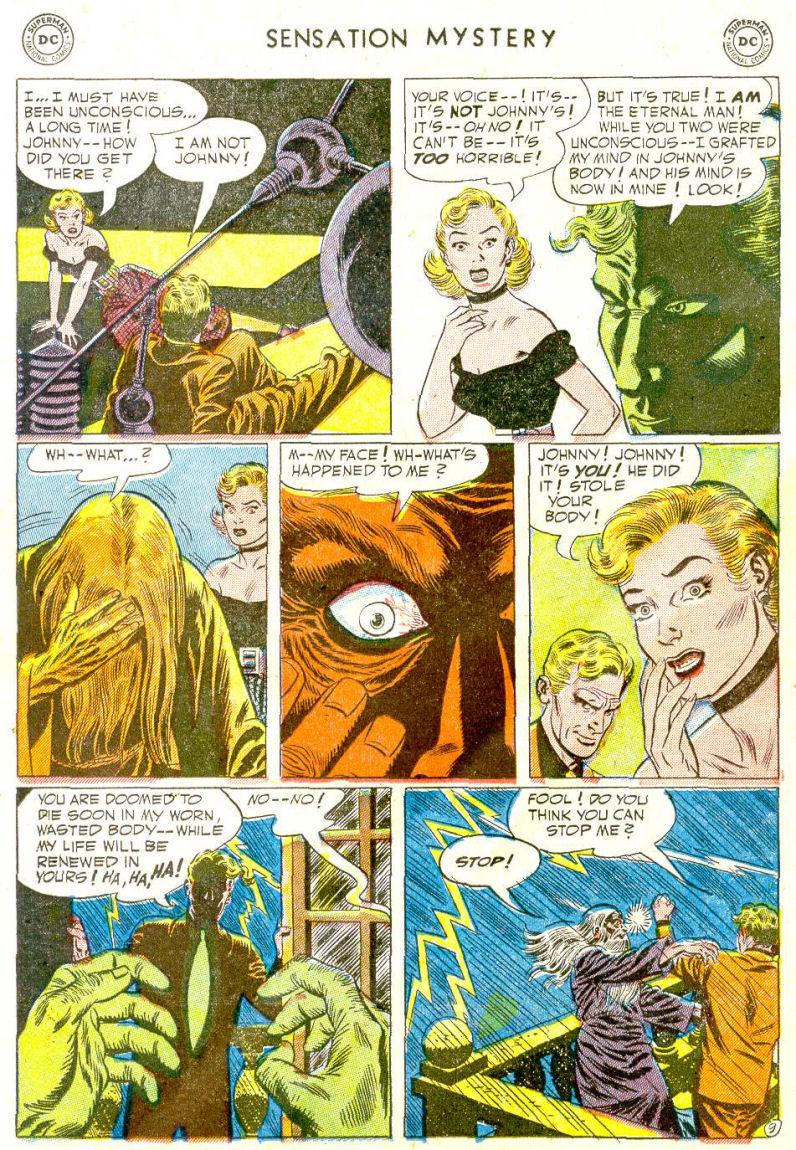 Read online Sensation (Mystery) Comics comic -  Issue #112 - 11