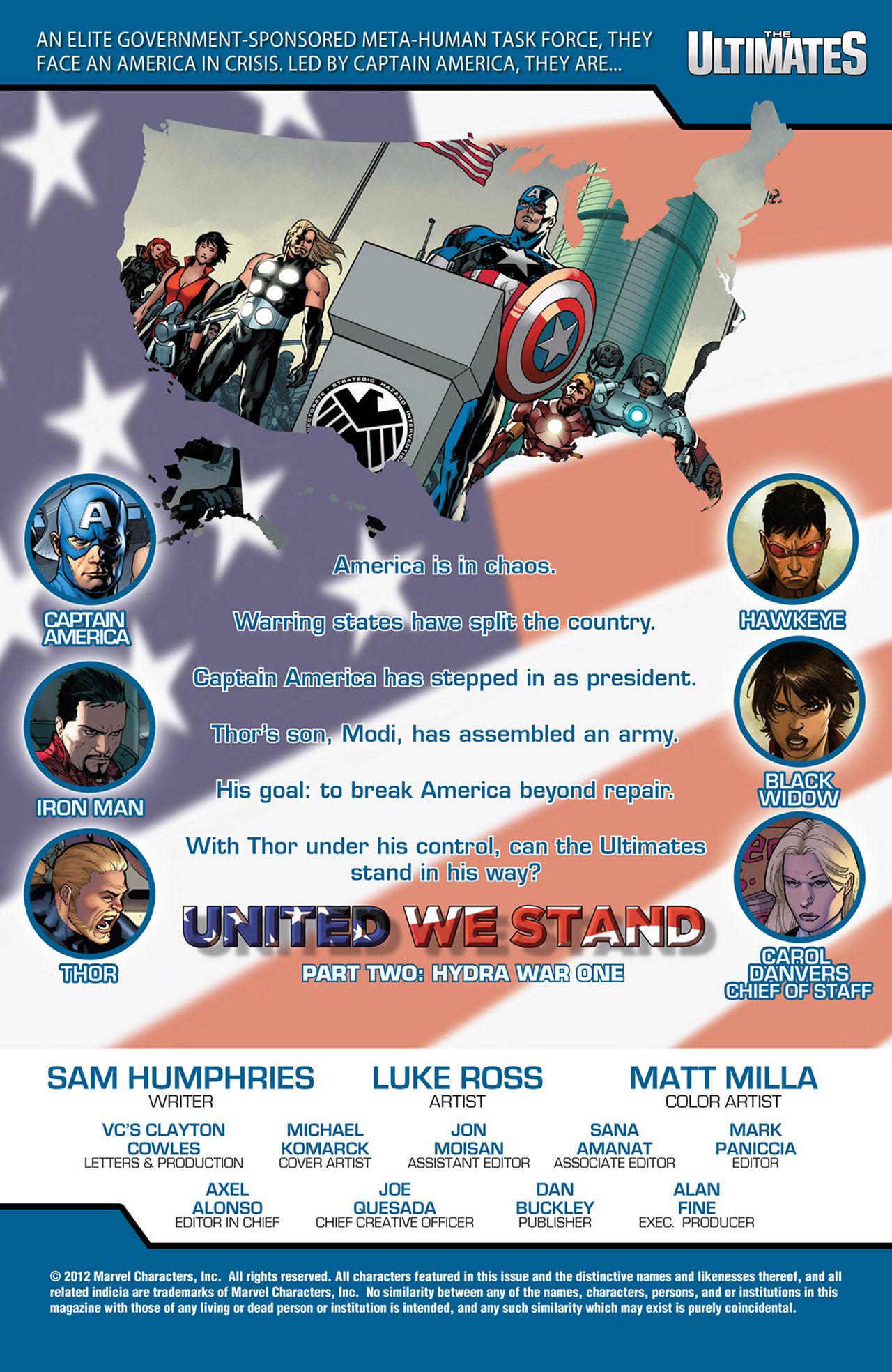 Read online Ultimate Comics Ultimates comic -  Issue #17 - 2