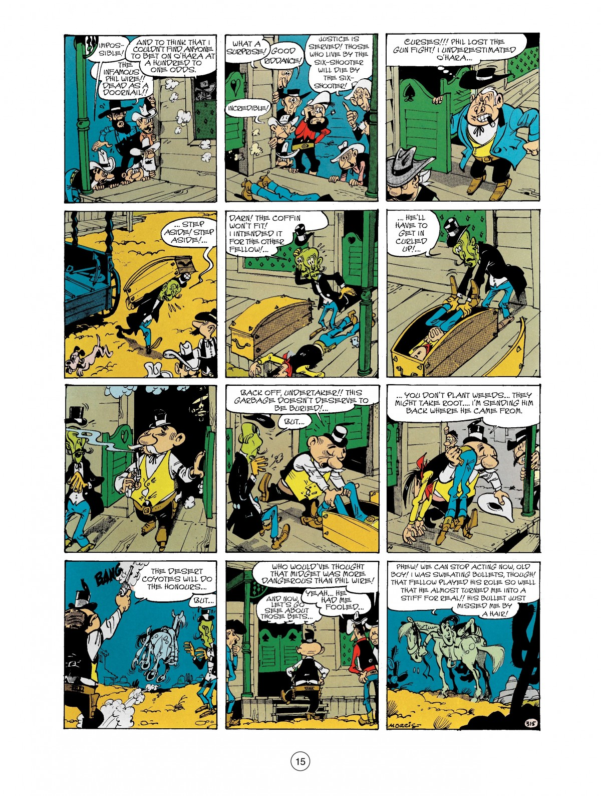 Read online A Lucky Luke Adventure comic -  Issue #40 - 15