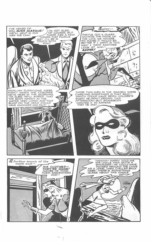 Read online Golden-Age Men of Mystery comic -  Issue #5 - 16