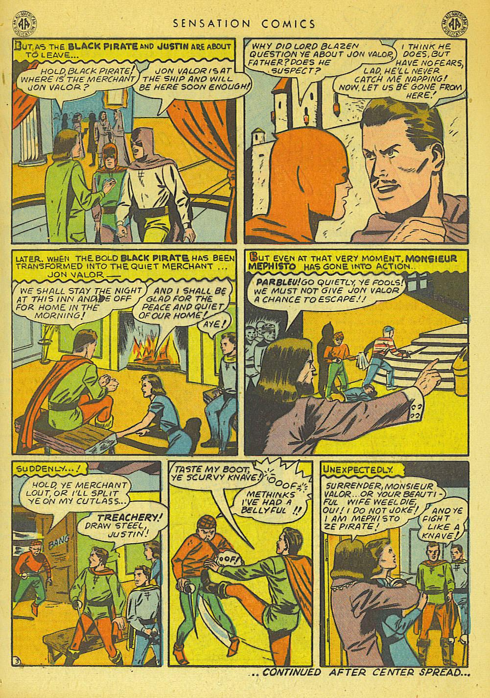 Read online Sensation (Mystery) Comics comic -  Issue #42 - 25