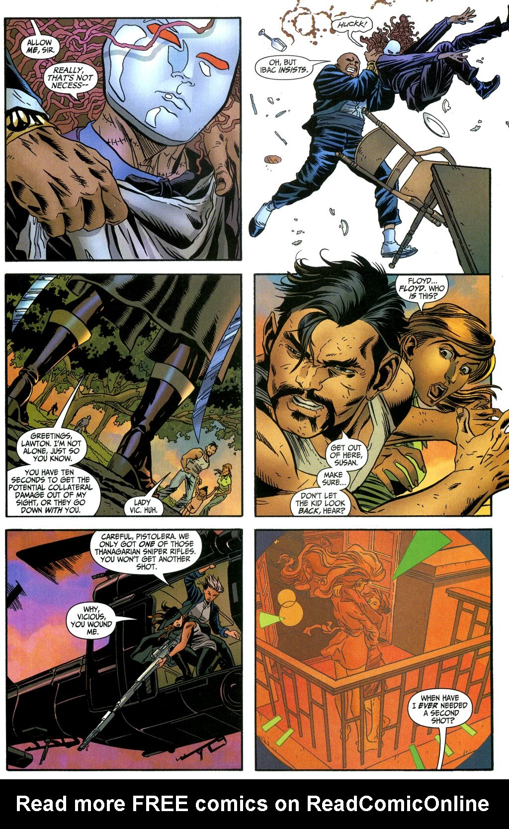 Read online Secret Six (2006) comic -  Issue #1 - 20