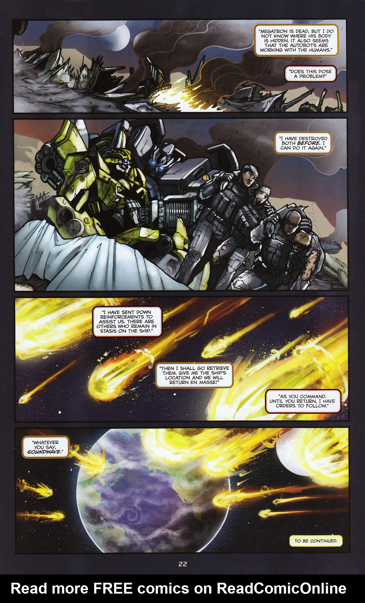 Read online Transformers: Alliance comic -  Issue #2 - 25
