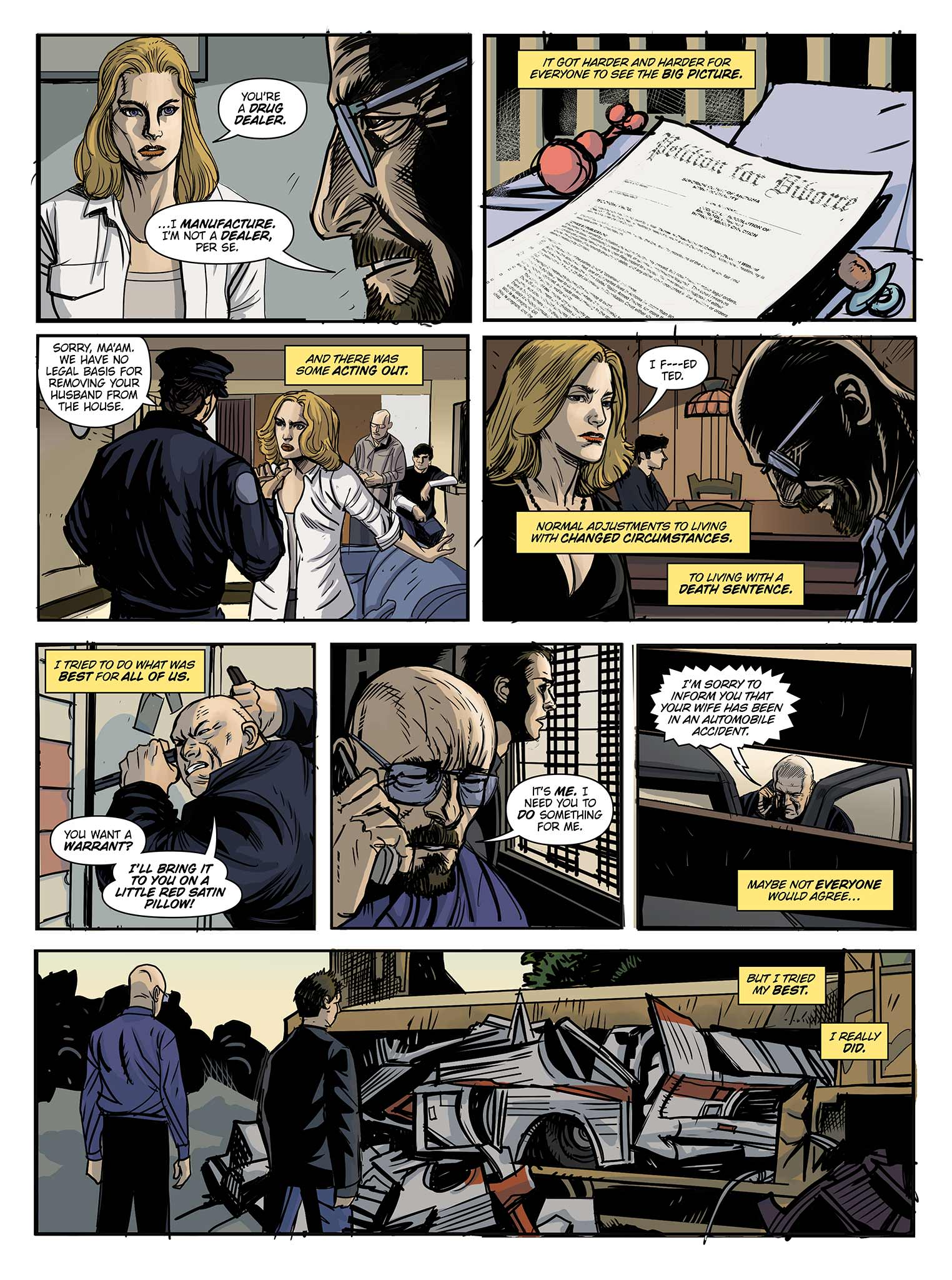 Read online Breaking Bad: All Bad Things comic -  Issue # Full - 10